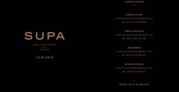 Show Package – London A/W 16: Supa (Men)