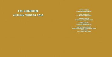 Show Package – London A/W 16: FM Agency (Men)
