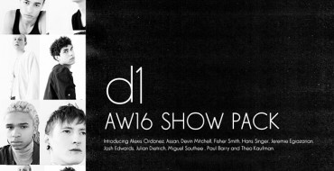 Show Package – New York F/W 16: d1 (Men)
