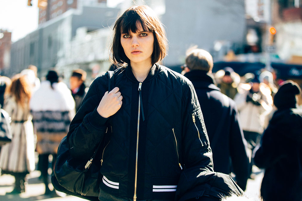 Language In 45 And 47 Stella Street: On The Street: NYFW F/W 2016