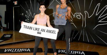 Victoria's Secret Fav Lais Ribeiro Trains Like An Angel