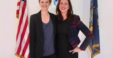 Sara Ziff and NY assemblywoman Nily Rozic push new model protections to be law