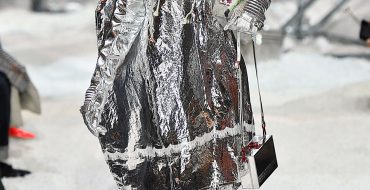 New arrivals went undercover at Raf's Calvin Klein balaclava blockbuster