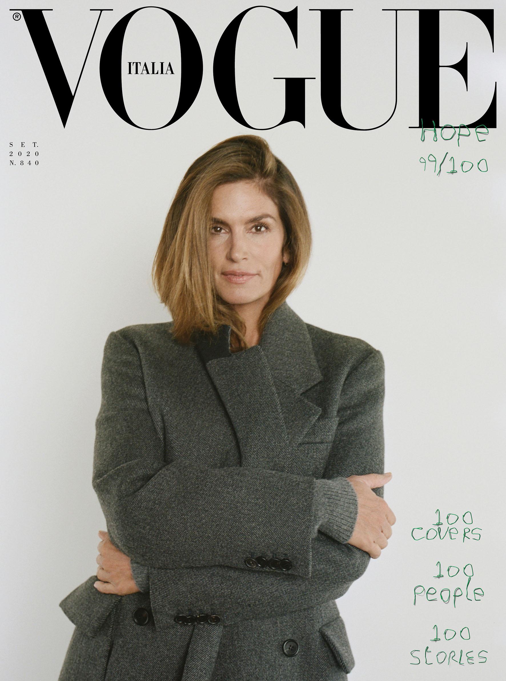 Emanuele Farneti S Vogue Italia Counts To 100 Of The Minute