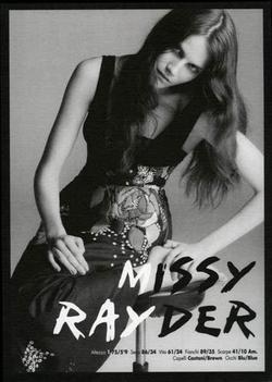Missy Rayder