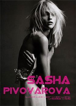 Sasha Pivovarova1