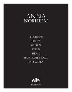anna norheim