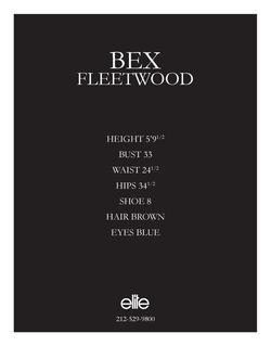 bex fleetwood