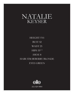 natalie keyser