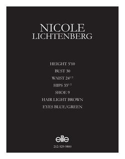 nicole lichtenberg