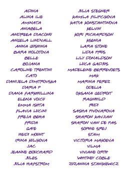 zz liste noms