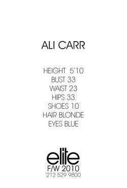 Ali Carr
