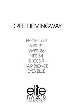 Dree Hemingway