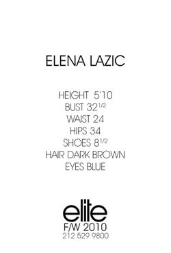 Elena Lazic