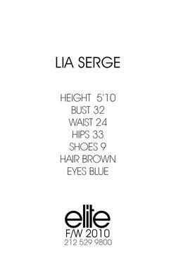 Lia Serge