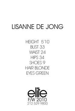 Lisanne De Jong