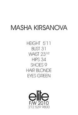Masha Kirsanova