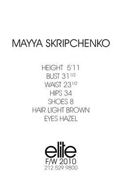 Mayya Chenko
