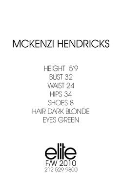 Mckenzi Hendricks