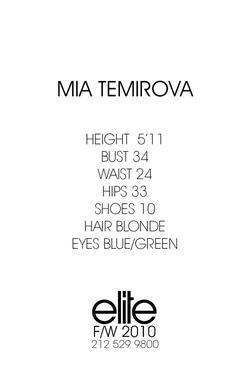 Mia Temirova