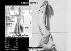 sophie holmes