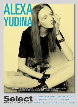 ALEXA YUDINA
