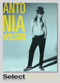ANTONIA WILSON