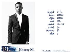 Khorey M