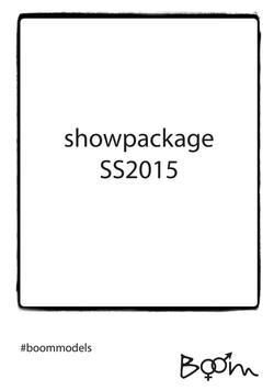 Showpackage SS2015 Cover