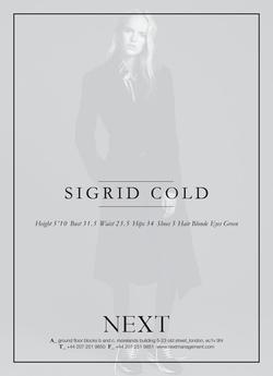 Sigrid Cold