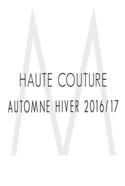 Haute Couture Automne Hiver 2016 2017