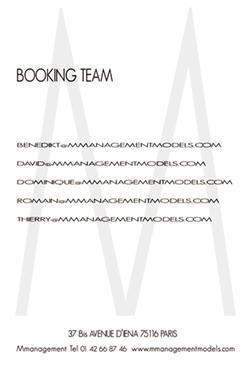 Booking Team