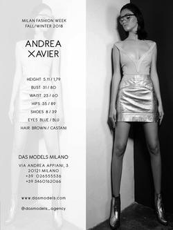 Andrea Xavier    61470115