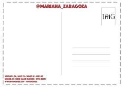 Mariana Zaragoza    82564783