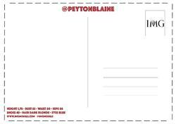 Peyton Blaine    3955595