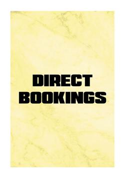 Direct Bookings   74964564
