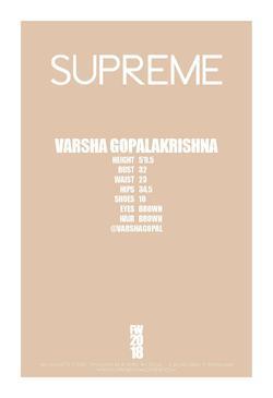 VARSHA GOPALAKRISHNA     88115715