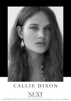 Callie Dixon   20294742
