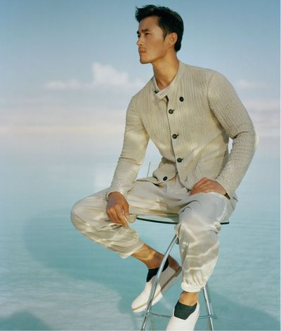 Zhao Lei - Ph: Kurt Marcus for Giorgio Armani S/S 19