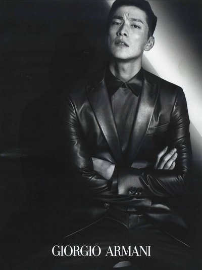 Daisuke Ueda - Ph: Mert Alas and Marcus Piggot for Giorgio Armani F/W 19