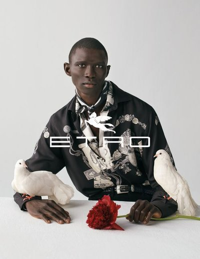 Fernando Cabral - Ph: Dario Catellani for Etro F/W 20