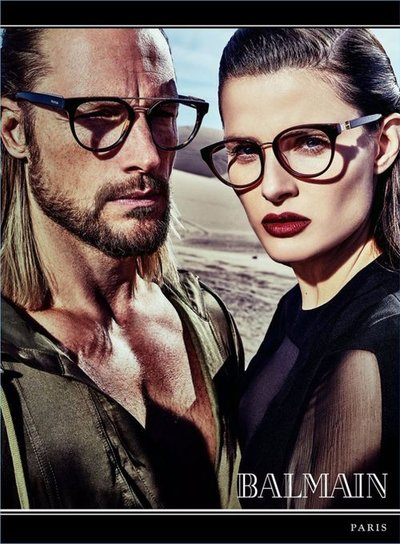 Gabriel Aubry - Photo: Steven Klein for Balmain S/S 17
