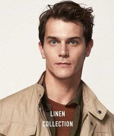Vincent LaCrocq - Ph: for Massimo Dutti April 2018