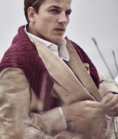 Hugo Sauzay - Photo: Alistair Young for Brunello Cucinelli S/S 19