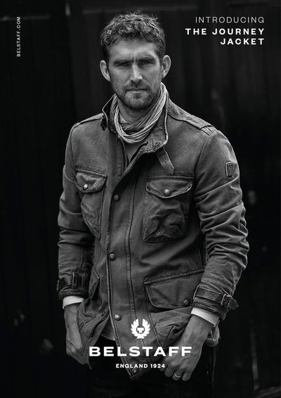 Will Chalker - Photo: Blair Getz Mezibov for Belstaff F/W 18