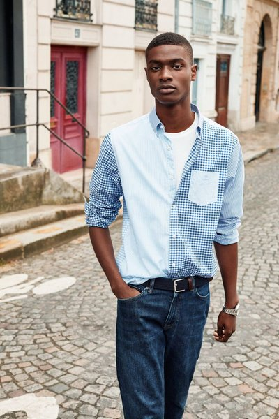 Rachide Embaló - Ph: for Gant Spring 2020
