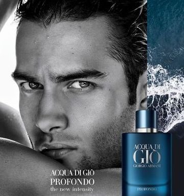 Aleksandar Rusic - Ph: Matthew Brookes for Giorgio Armani Acqua Di Gio Profondo Fragrance 2020