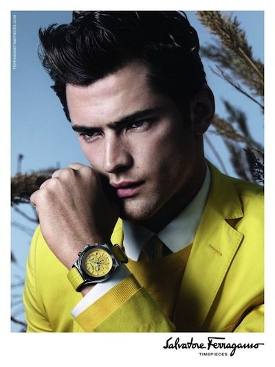 Sean O'Pry - Ph: David Sims for Salvatore Ferragamo S/S 13