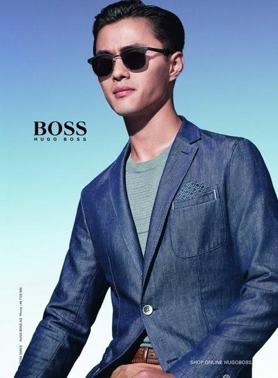 Zhao Lei - Ph: for Hugo Boss S/S 14