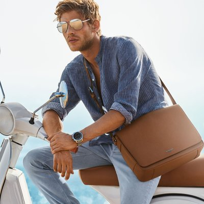 Baptiste Radufe - Ph: Mario Testino for Michael Kors S/S 18